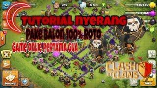 Kembali bermain clash of clans 'game online pertama gua'