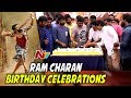 Ram Charan Birthday Celebrations @ Chiranjeevi Blood Bank