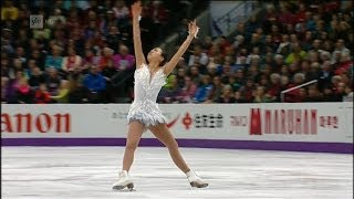 Mao Asada - 2013 Word Figure Skating Championships - Free Skating - Real HD video