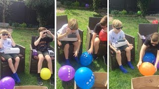 Brothers See Colour For First Time