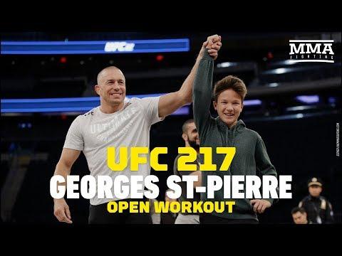 Otwarty media trening UFC 217: Joanna Jędrzejczyk też potrafi poddać