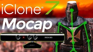 iClone Xbox One Kinect Plugin Tutorial Motion Capture for DAZ