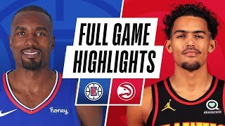 CLIPPERS at HAWKS | FULL GAME HIGHLIGHTS | January 26, 2021