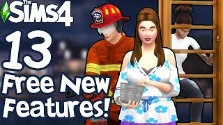 The Sims 4: FIREFIGHTERS, LADDERS, AND MORE FREE NEW FEATURES (June 2020 Patch Update)
