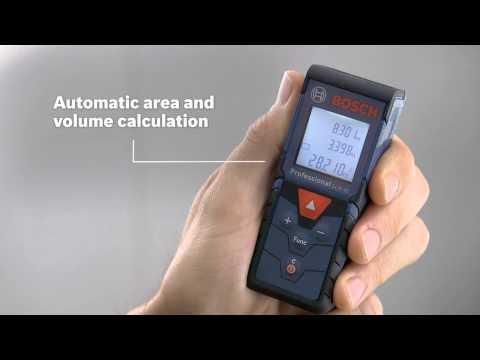 Bosch GLM40 40 Metre Distance Laser Measure