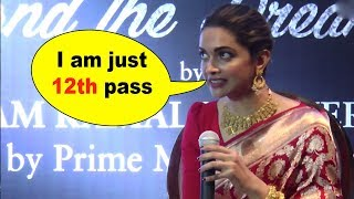 SHOCKING!! Deepika Padukone reveals that she is just 12th ..