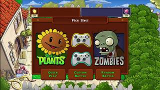 Plants vs Zombies Competitive 2-Player Xbox 360 HD (1080p)