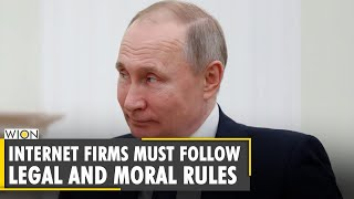 Russia: Vladimir Putin wants the internet bound by Moral Rules | World News | WION