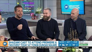 The cast of 'Shazam!' is here