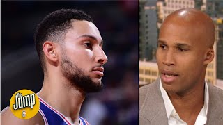 Ben Simmons' shoulder injury might be a big problem because of 1 move - Richard Jefferson | The Jump