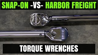 "Snap-on - VS - Harbor Freight ( ICON ) 1/2"" Torque Wrenches"