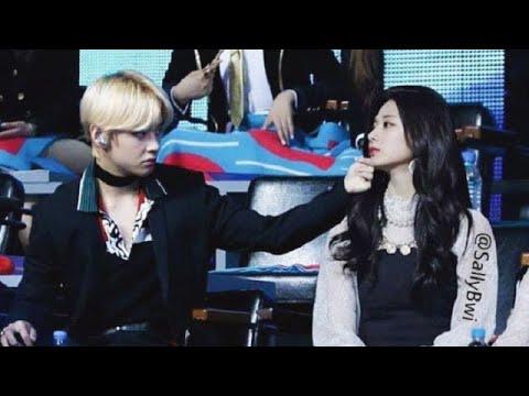 Taehyung ♡ Tzuyu Taetzu Moments compilation-2