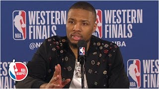 Damian Lillard isn't giving up on the Blazers: 'We've just got to get one' | 2019 NBA Playoffs