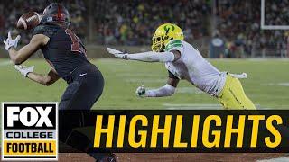 Oregon vs Stanford | Highlights | FOX COLLEGE FOOTBALL