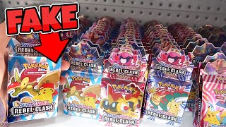 Huge FAKE Pokémon Card Shop **EXPOSED**