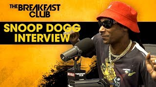 Snoop Dogg Talks Death Row Stories, Jay-Z's NFL Deal, Nipsey Hussle + More