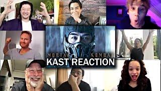 Mortal Kombat (2021) Cast Reacts to MORTAL KOMBAT Trailer!!