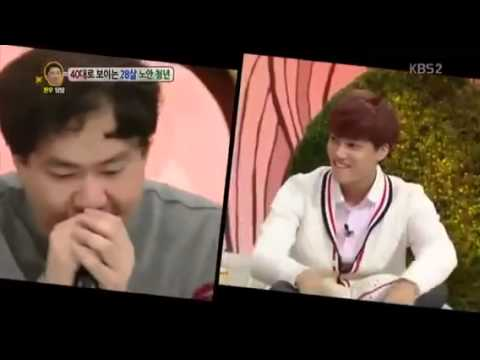 EXO 131014 - KAI & LAY BEATBOX + Dance