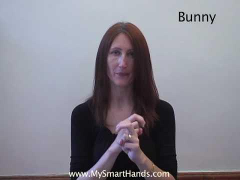 Bunny Rabbit Asl Sign For Bunny Rabbit Youtube