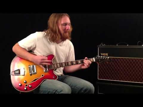 1967 Fender Coronado II Demo - MusicStoreLive.com