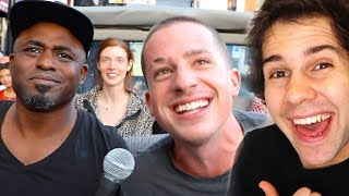 SINGING TO STRANGERS WITH CHARLIE PUTH!!