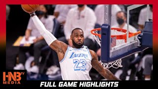 LA Lakers vs Indiana Pacers 5.15.21 | Full Highlights | LEBRON RETURNS!