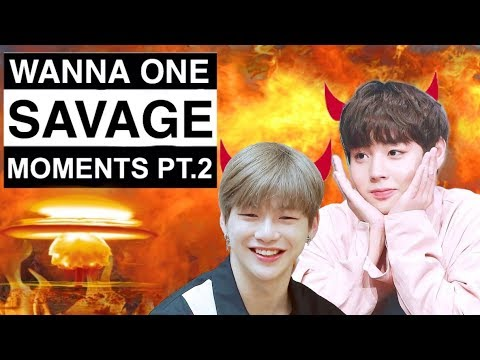 Wanna One Savage Moments #2 | 황민현 (thank you for 1.1k subs + Q&A time)