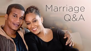 Tia Mowry and Cory Hardrict Marriage Q&A | Quick Fix