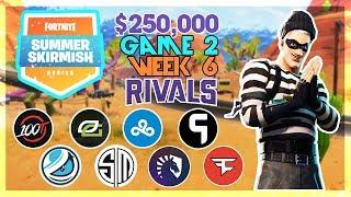 $500,000 🥊Rivals Summer Skirmish🥊 Week 6 Game 2 (Fortnite)