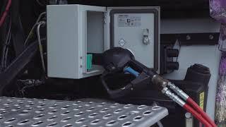 En pratique : faire le plein d'un camion GNV par Proviridis