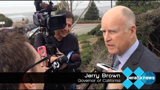 Peralta News: Governor Jerry Brown at Merritt College