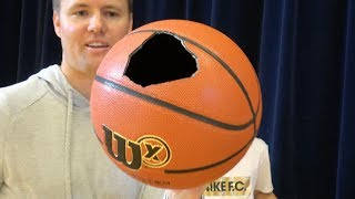 What's inside a Wilson X Basketball?