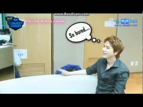 [ENG] KYUHYUN TROLLING f(x) AMBER - SPEAK ENGLISH, CHI