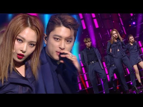 《MOURNFUL》 KARD(카드) - You In Me @인기가요 Inkigayo 20171203