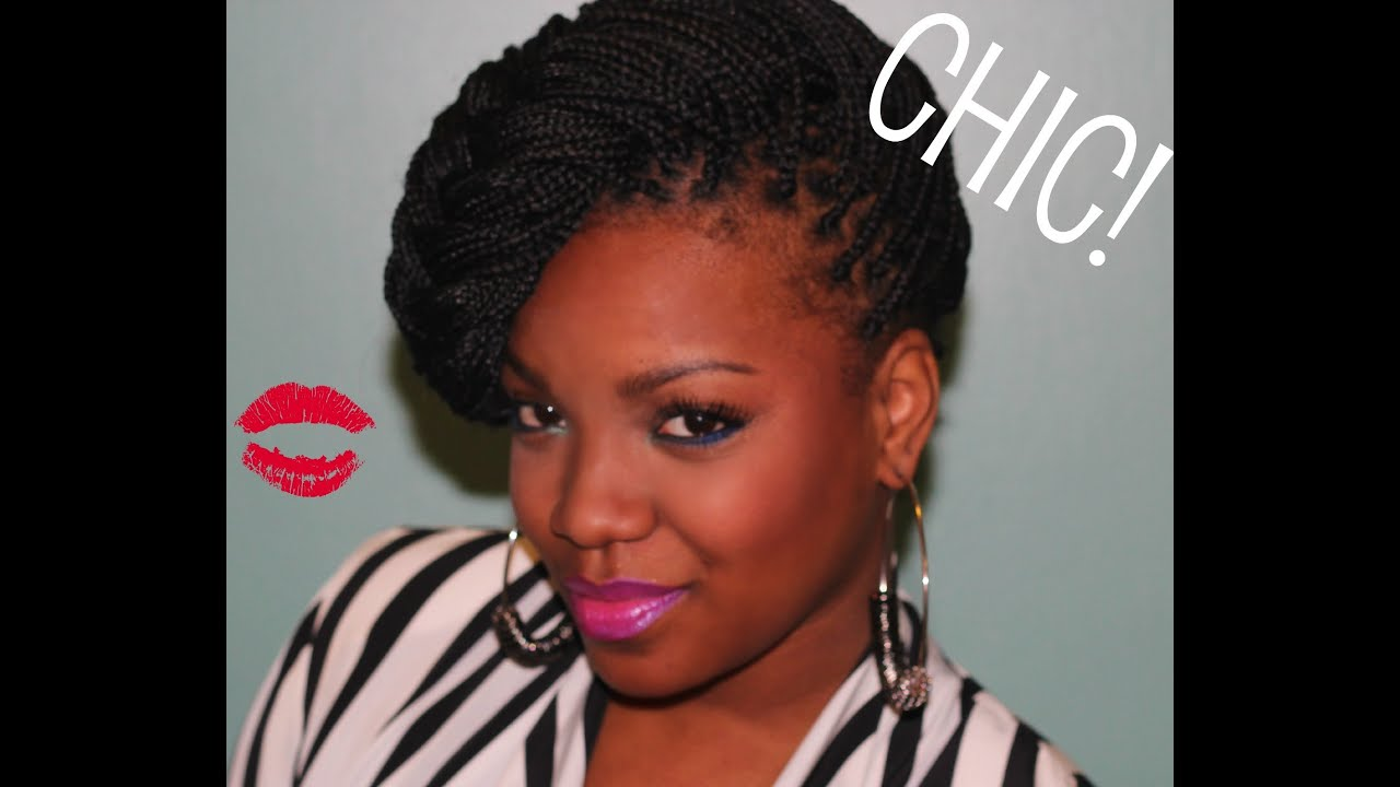 Box Braids Hairstyles Youtube: How To Style Your Box Braids!
