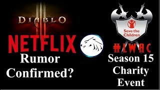 Diablo on Netflix, Diablo 3 Season 15 Charity Event
