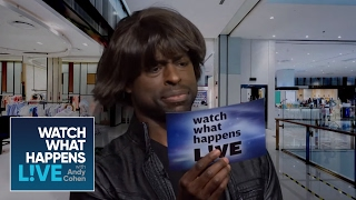 Sterling K. Brown And Dennis Quaid Are Sheree Whitfield And Kenya Moore! | WWHL