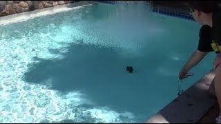 Dry Ice Bomb in Pool + Underwater Footage