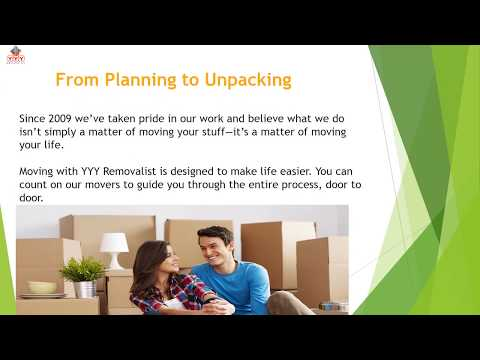 YYY Removalist | Best House & Office Moving Company In Sydney NSW