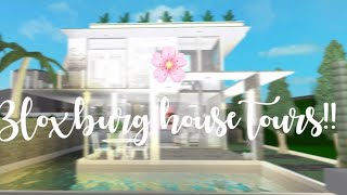 All my Bloxburg houses! House Tour 🌼