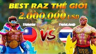 SOLO RAZ | Best RAZ Thế giới đối đầu thì sẽ như thế nào? | Liên quân GameTV