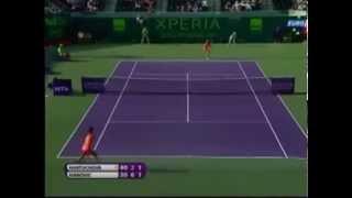 Ivanovic vs Hantuchova Miami 2012 Highlights