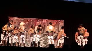 The Survey Corps @ Anime Expo 2014