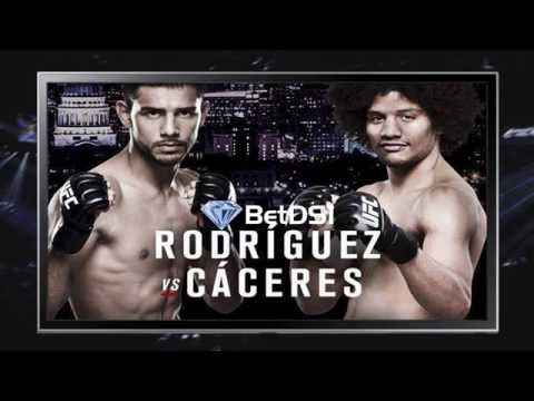 UFC Odds | Fight Night 92  Rodriguez vs Caceres Picks and Predictions