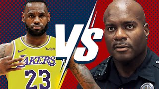 LAPD Officer Schools LeBron James for Profiling Police | Larry Elder