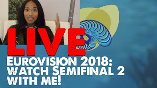 LIVE: Watch the Eurovision 2018 Semifinal 2