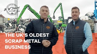 A Day In The Life At The UK's Oldest Scrap Metal Business | H.W Taroni