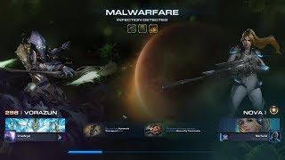 StarCraft 2 LotV Co-op Brutal Mutation - Infection Detected (Vorazun + Nova)