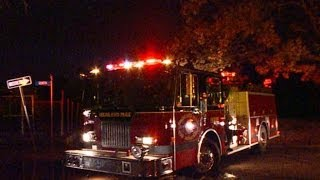 As Detroit Suburb Burns, Firefighters Won't Back Down