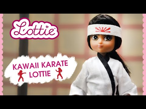 Kawaii Karate Lottie Doll